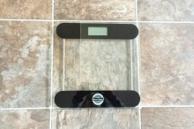 シンプルな体重計