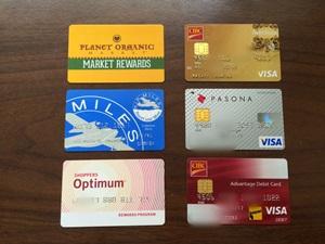 クレジットカードなど