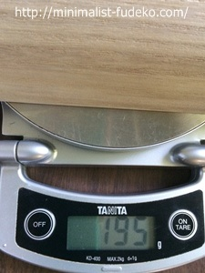 木枕の重量