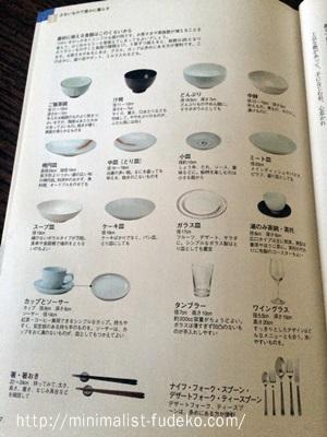 食器の数(シンプルライフをめざす基本の家事)