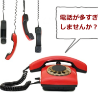 多すぎる電話