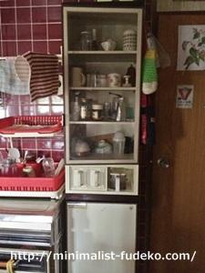 母の台所の流しの右隣