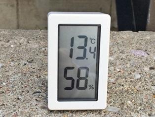 無印良品の温度・湿度計