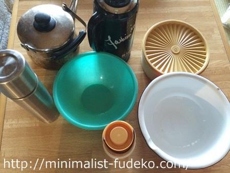 台所用品を処分
