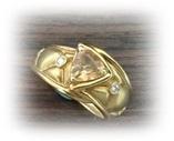 トパーズの指輪