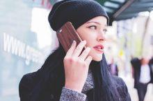 電話でお話する