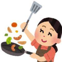 料理する人。