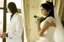 新婚カップル