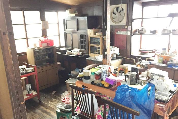 汚部屋な台所