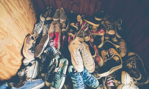 靴がいっぱい