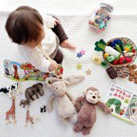 幼児とおもちゃ
