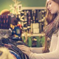 服の買い物