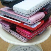 古い携帯電話