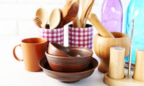 木製の食器いろいろ