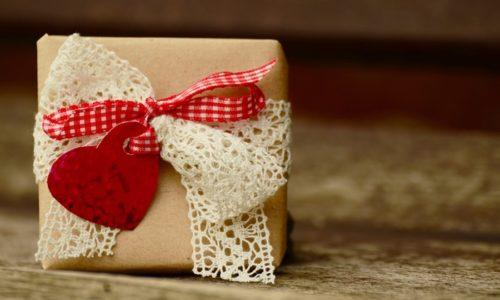 かわいい贈り物