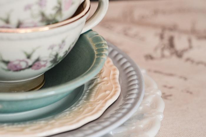 ティーカップとお皿