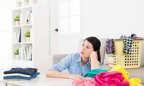 洗濯ものをたたむ気になれない人