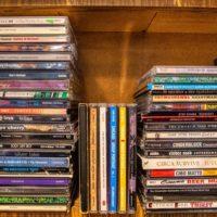 CDのコレクション