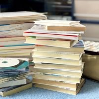 捨てる本とCD