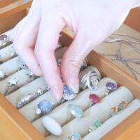集めた指輪