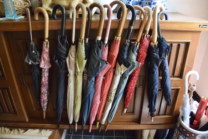 実家にある大量の傘